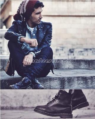 1460 马丁靴搭配 男